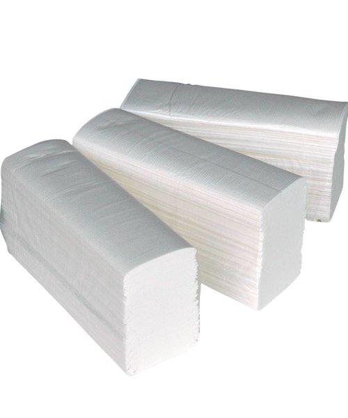 HYSCON Handdoekpapier Multifold 2 lgs verlijmd 25x150 (3750) stuks