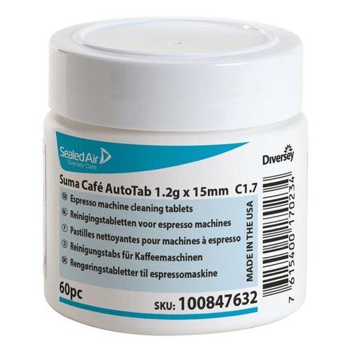 Diversey Suma Café AutoTab 1.2g x 15mm C1.7 - 2 x 60 stuks