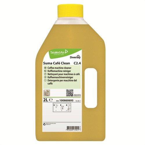 Diversey Suma Café Clean C2.4 - 6 x 2 ltr