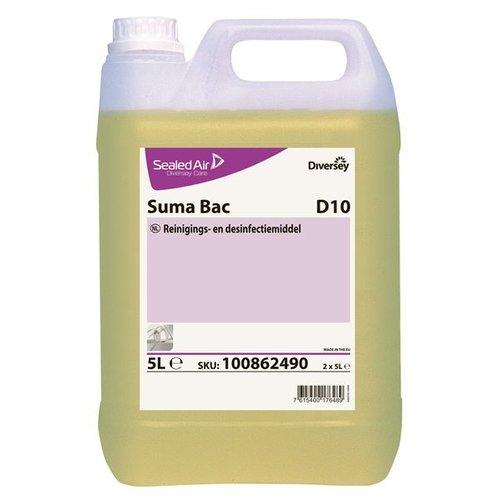 Diversey Suma Bac D10 Can - 2 x 5 ltr