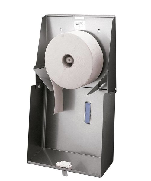 Santral Toiletroldispenser 1 rol Jumbo RVS anti vingerafdrukcoating