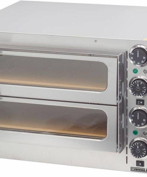 Casselin Pizza Oven 2 kamers