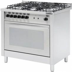 Gasfornuis 5 pits met elektrische oven