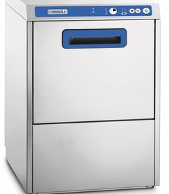 Glazenwasmachine 400 met afvoerpomp
