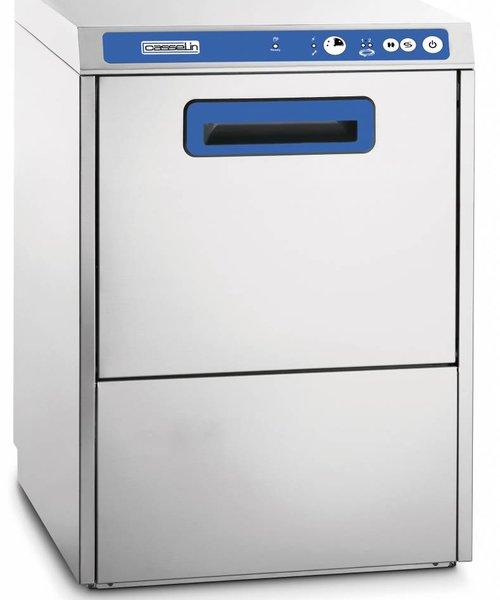 Casselin Glazenwasmachine 400 met waterontharder en afvoerpomp