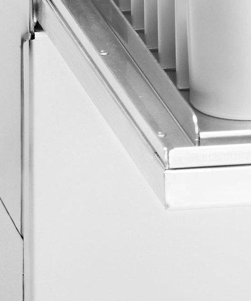Casselin Glazenwasmachine dubbelwandig met waterontharder en afvoerpomp