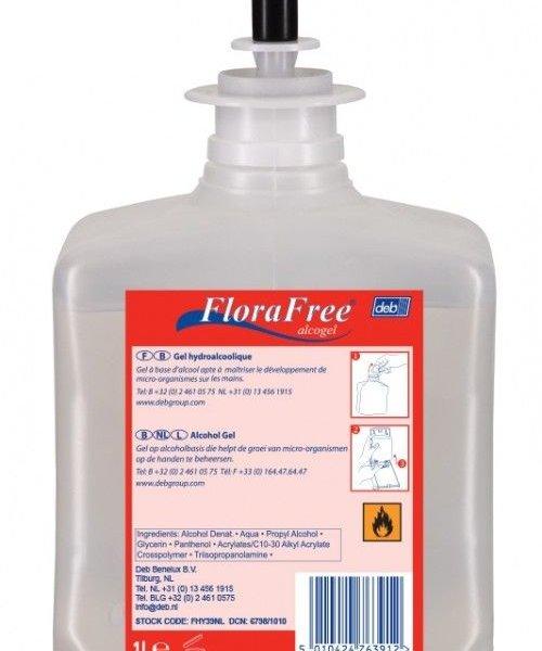 DEB FloraFree Alcogel 1 ltr