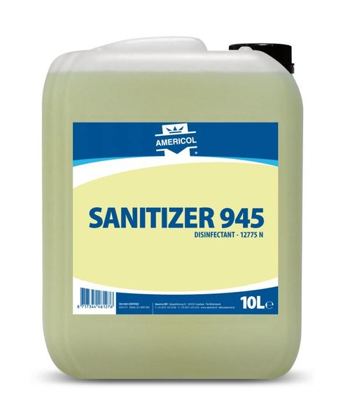 Americol Sanitizer 945 can 10 ltr