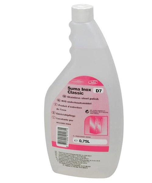 Diversey Suma Inox Classic D7. 6 x 750 ml