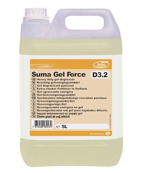 Diversey Suma Gel Force D3.2. 1 x 5 ltr