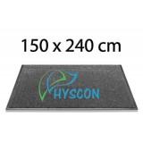 HYSCON Logo Schoonloopmat 150 x 240 cm