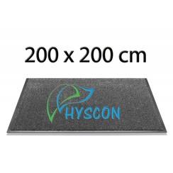 Logo Schoonloopmat 200 x 200 cm