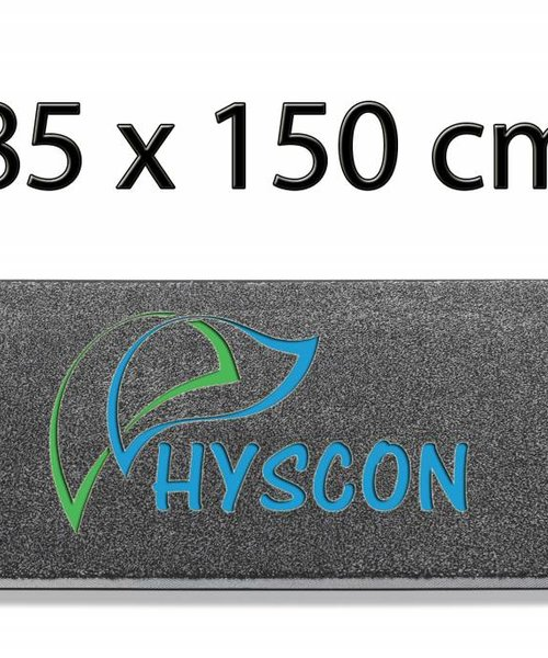HYSCON Logo Schoonloopmat 85 x 150 cm