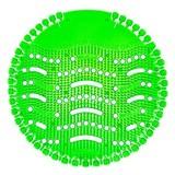 HYSCON Urinoirmat Wave 2 - Super Limoen