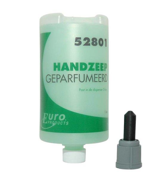 Euro Products Handzeep geparfumeerd P52801 - 6 flacons à 1 ltr