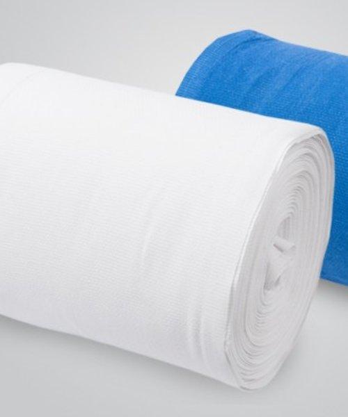 HYSCON Katoenen handdoekrol BLAUW