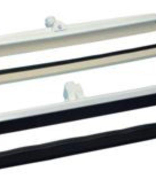 Diversey Vloertrekker standaard met wit rubber - Werkbreedte 400 mm