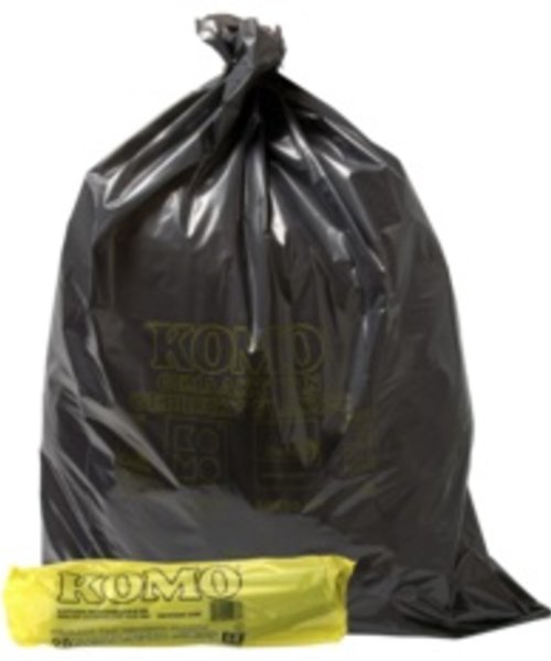 KOMO LDPE Huisvuilsets rol - 60 x 80 cm