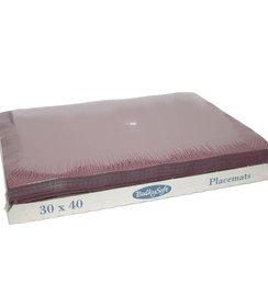 Placemats 30 x 40 - Bordeaux