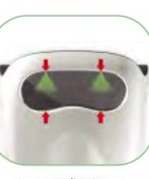 HYSCON VisionAir Handdroger Easy RVS look