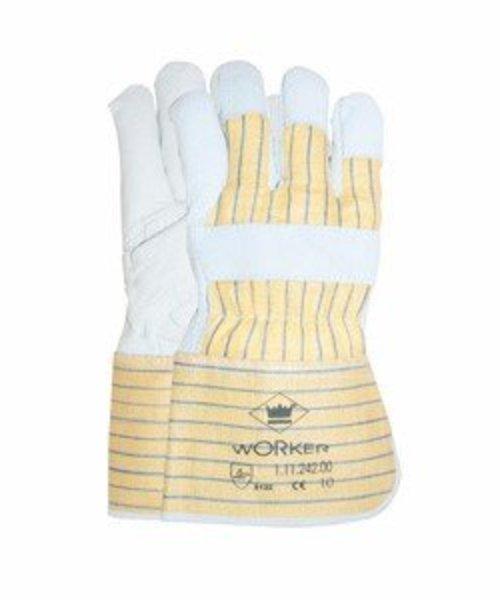 HYSCON Nerflederen Handschoenen - Maat XL