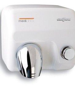 Handendroger Saniflow E05 drukknop wit