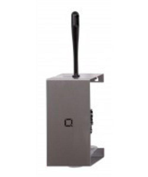 Qbicline Toiletborstelhouder RVS