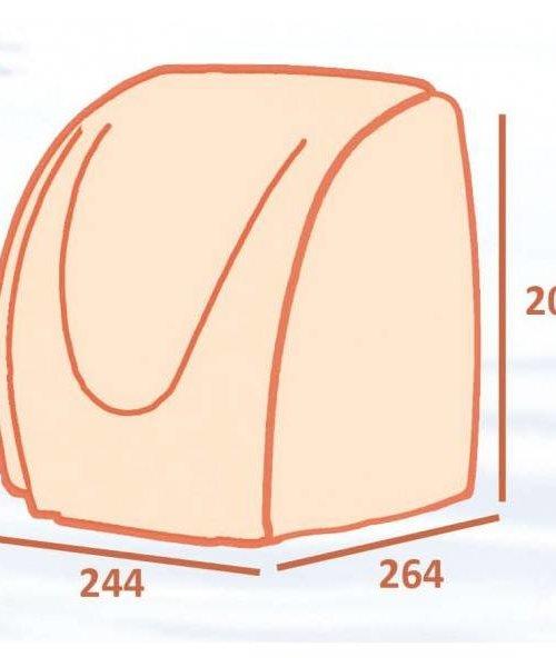 Casselin Compacte handendroger WIT-2100W