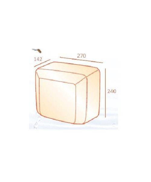 Casselin Goedkope RVS droger  2.500 watt