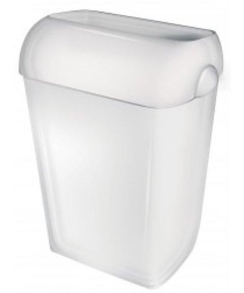 PlastiQline Afvalbak wit 43 ltr