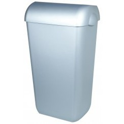 Afvalbak RVS look 43 ltr