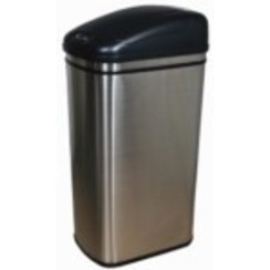 Afvalbak automatische 42 lrt RVS