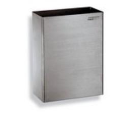 Afvalbak open RVS mat 25 ltr