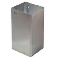 Afvalbak open RVS mat 65 ltr