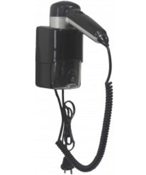 Mediclinics Haardroger ABS met shaver zilver/zwart