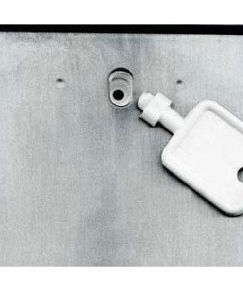 Santral Toiletroldispenser 2 rols traditioneel RVS
