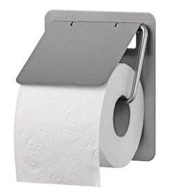 Toiletroldispenser 1 rols traditioneel RVS