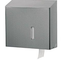 Toiletroldispenser 1 rol Jumbo RVS