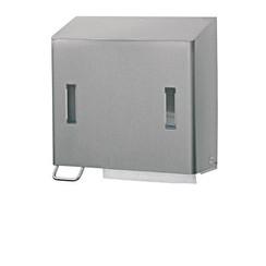 Handdoek- en zeepdispenser RVS