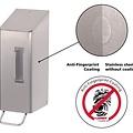 Santral Zeepdispenser RVS met anti vingerafdrukcoating
