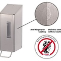 Santral Toiletroldispenser 2-rols dop RVS anti vingerafdruk coating