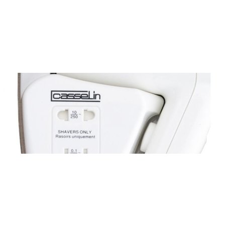 Casselin Haardroger met scheerstopcontact - 1200W