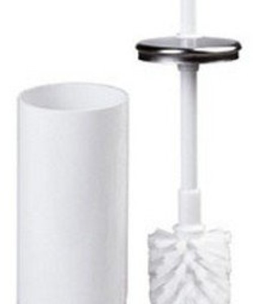 Mediclinics Toiletborstel wit staal