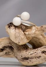 Miluh Manufaktur Ring Double Pearl