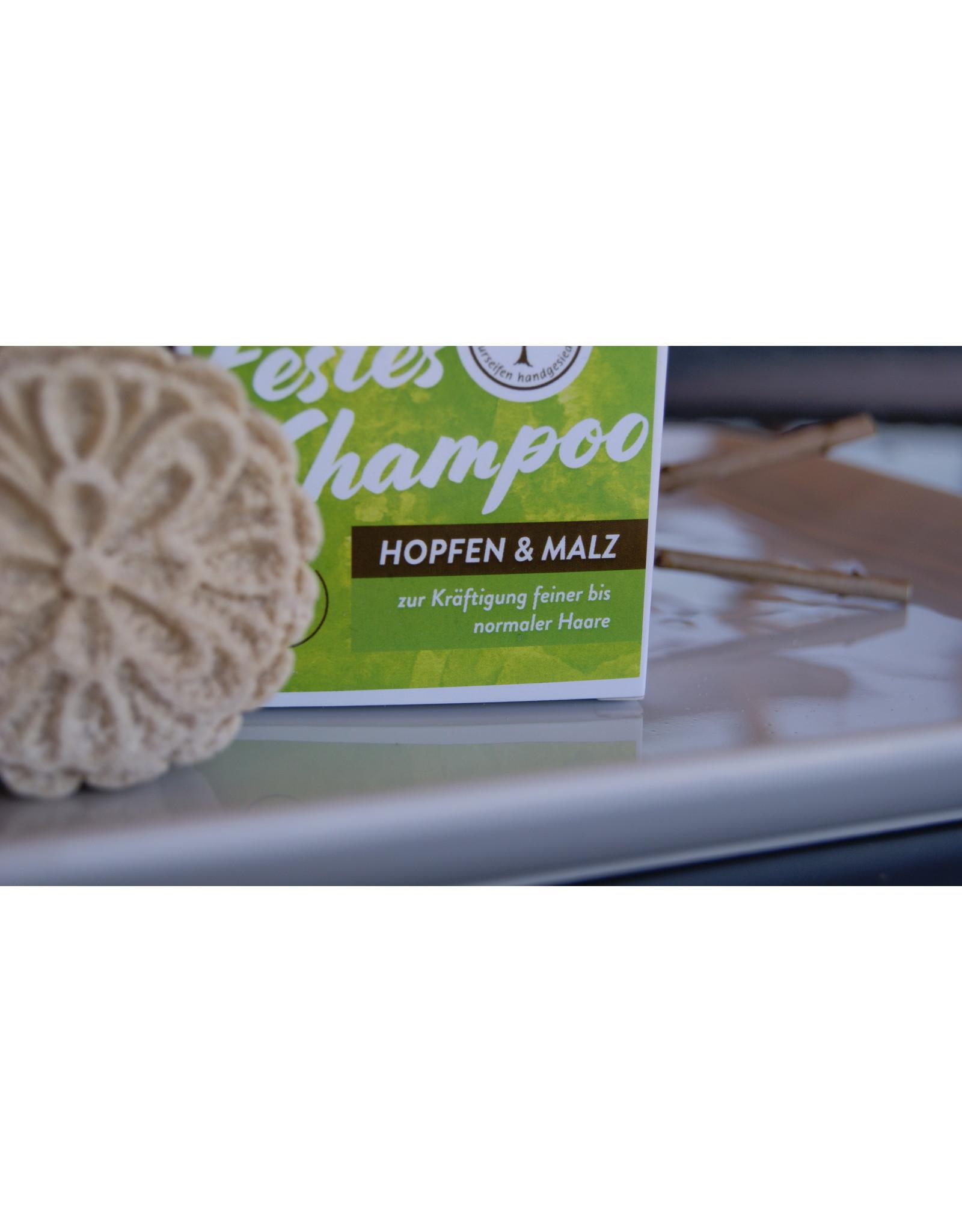 Festes Shampoo Hopfen und Malz