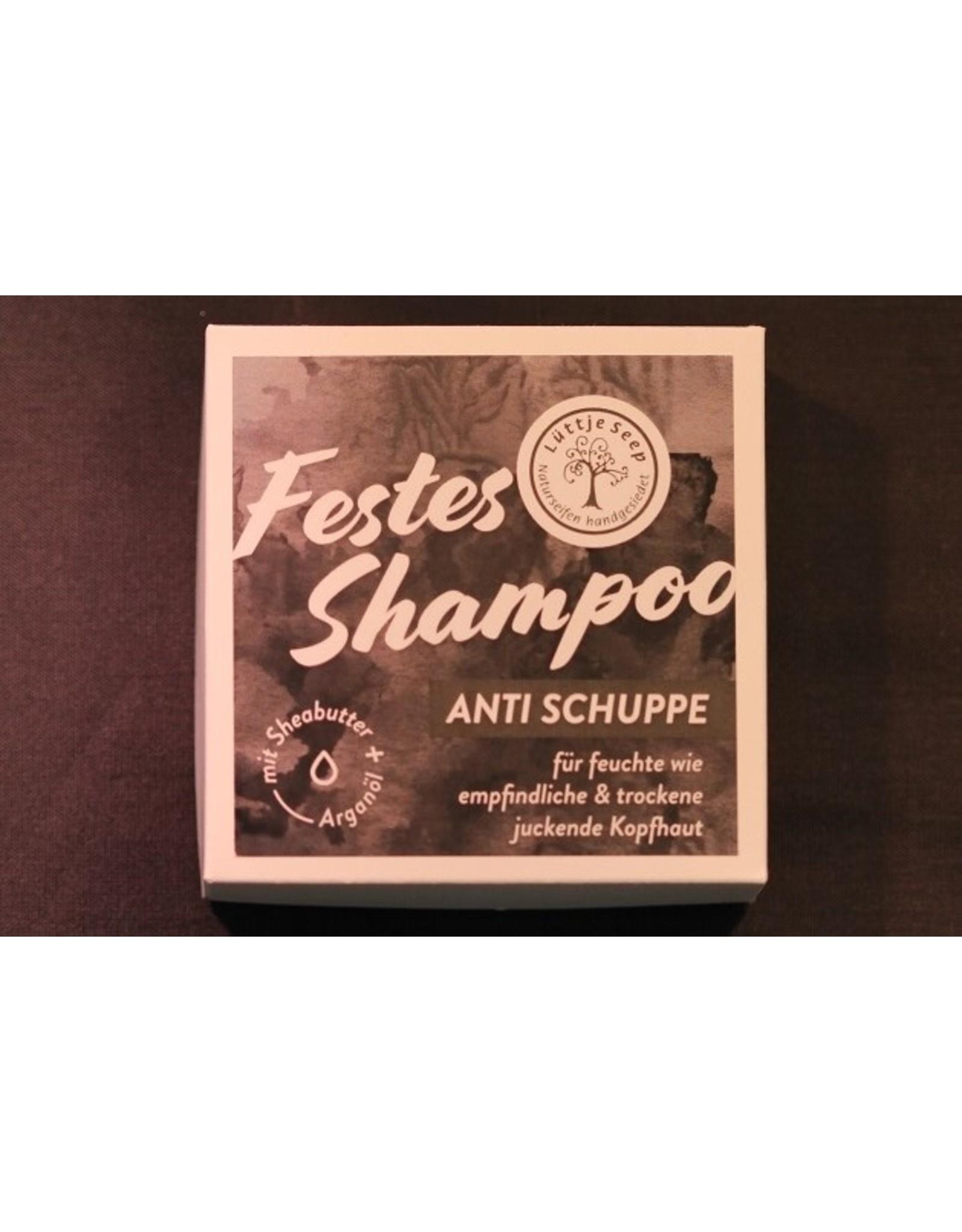 Festes Shampoo  - Anti Schuppe