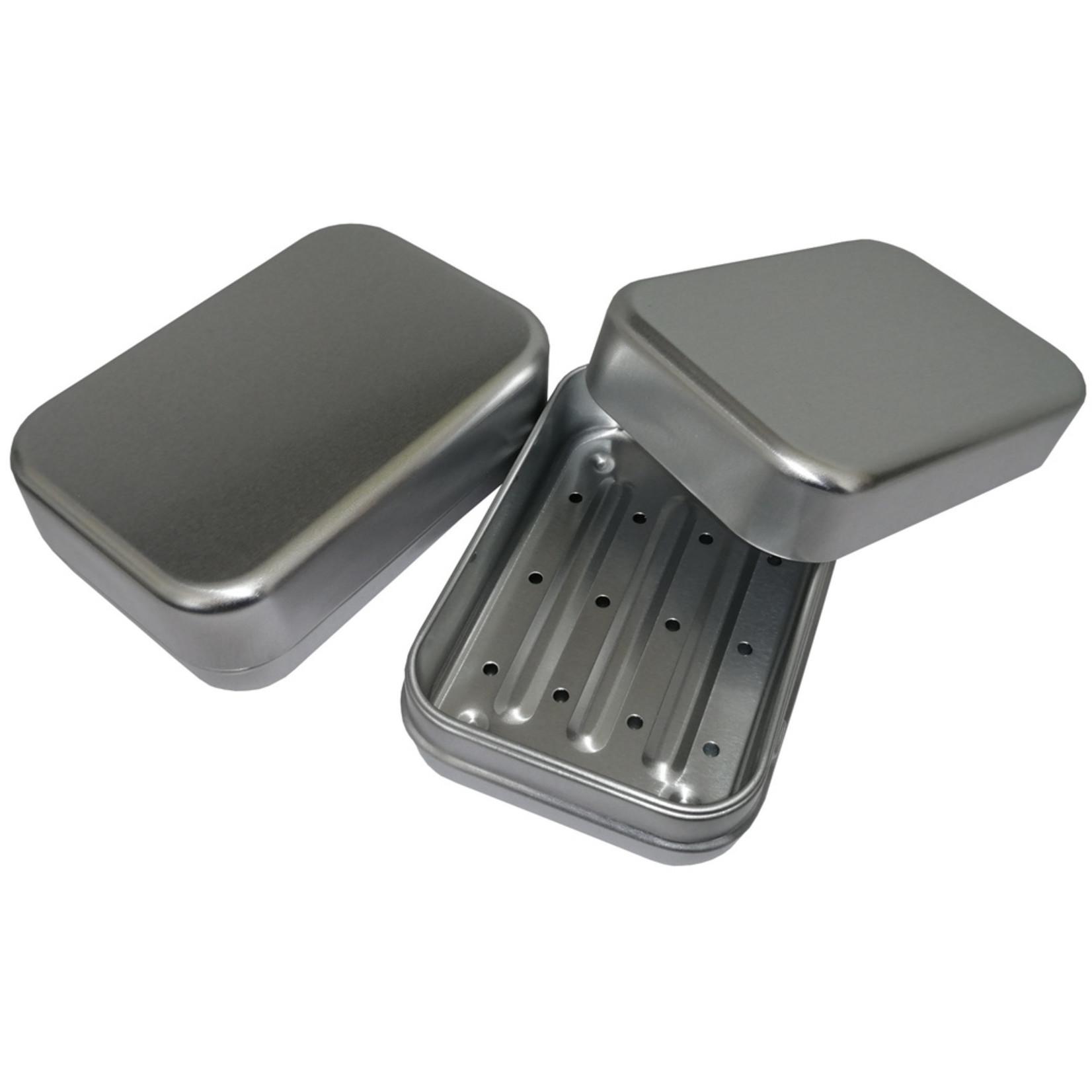 Seifendose Aluminium 3 tlg.