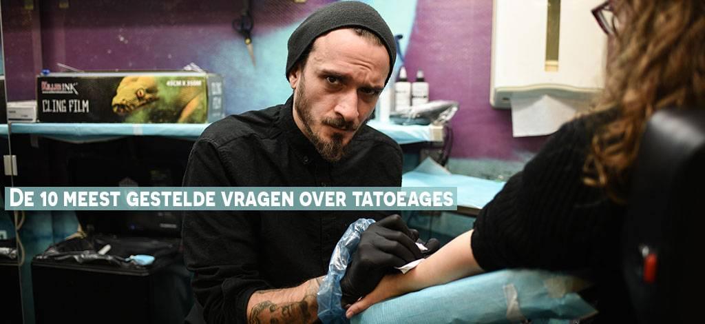 De 10 meest gestelde vragen over tatoeages