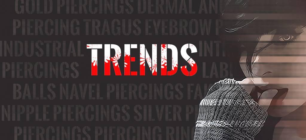 De laatste piercing trends