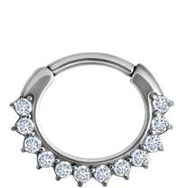 Septum Click Ring - Kristalletjes